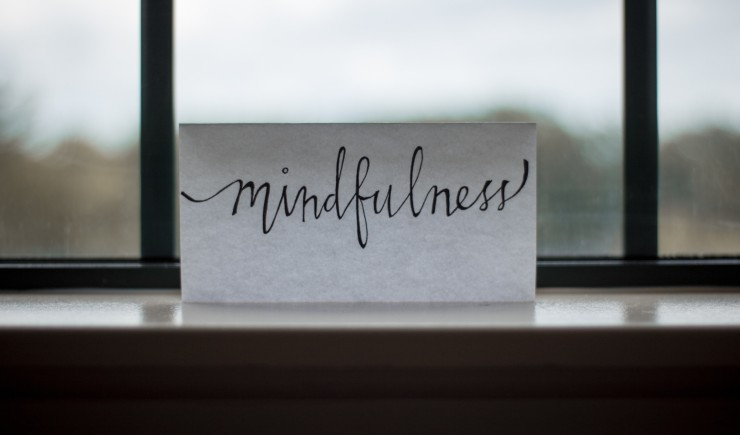 mindfulmedicine.co.uk image: Mindfulness written on a piece of paper